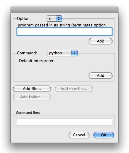 EasyDialogs – Carbon dialogs for Mac OS X - Python Module of